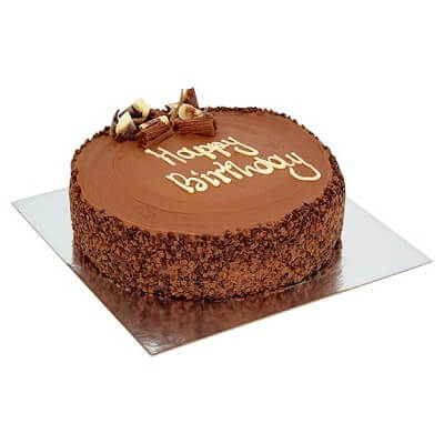 Tesco cakes chocolate round birthday cake