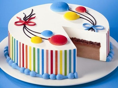 Dairy Queen Birthday Cake