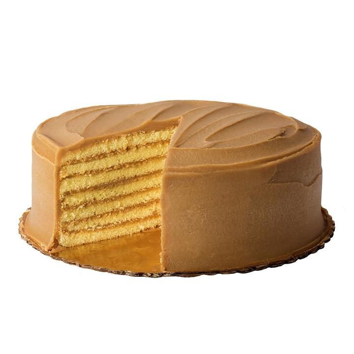 carolines cakes - 7 layer caramel cake by caroline's cake