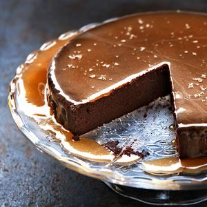 dominique ansel bakery - CHOCOLATE CARAMEL MOUSSE CAKE