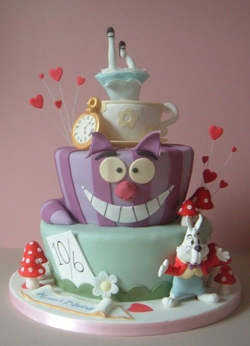 cakes plus - MAD HATTER & OTHER CHARACTER THEMES