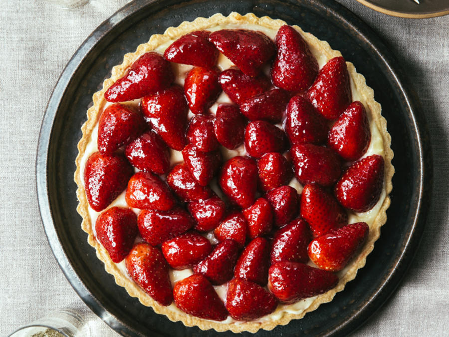 dominique ansel bakery - sweet-summer-strawberry-tart-su