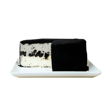 Keki Modern Cakes' fancy cookies and cream cheesecake